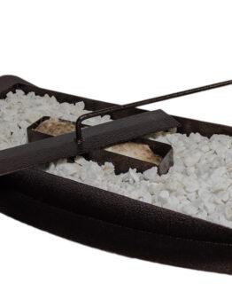 chimenea bioetanol tipo canoa