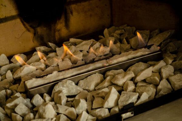 quemador bioetanol chimenea