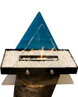 chimenea bioetanol tipo triangulo2