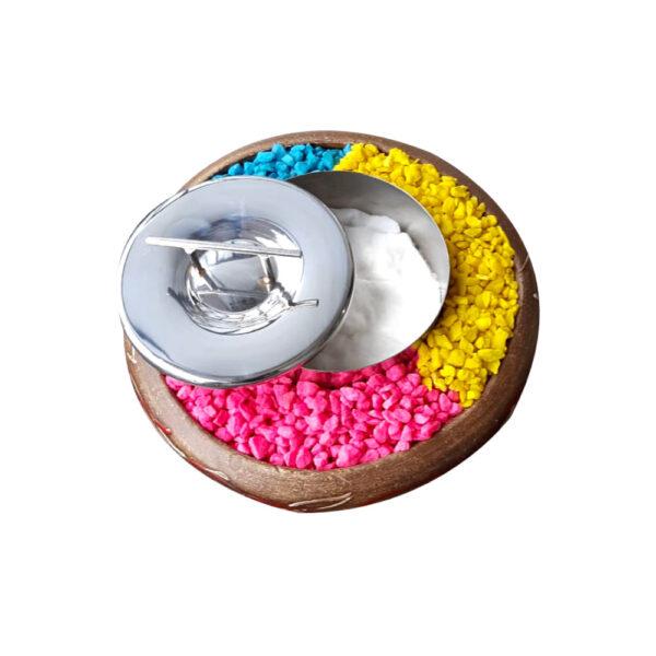 chimenea bioetanol barro pequeña2